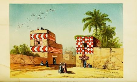 Egyptian Village Life.